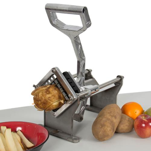 Potato French Fry Fruit Vegetable Cutter Slicer Commercial Quality W/ 4 Blades