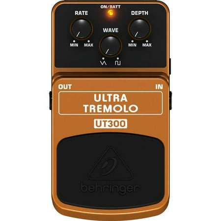 Behringer Acoustic Effects Pedal (Behringer UT300 Classic Tremolo Effects Pedal )