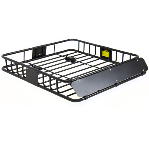 BCP Universal Roof Rack Cargo Car Top Luggage Carrier Basket Traveling SUV Holder