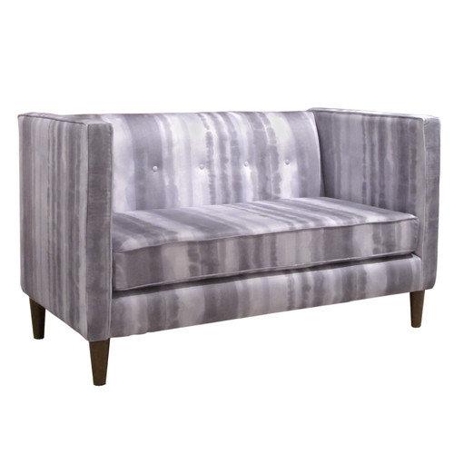 Skyline Furniture 5 Button Settee Loveseat