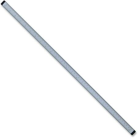 "Lorell, LLR32118, 36"" Magnetic Strip Ruler, 1 Each, Silver"