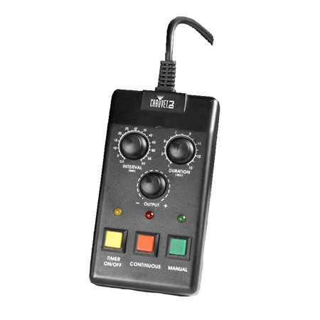 Fog Machine Timer Control (CHAUVET DJ FC-T Wired Vertical Fog Machine Timer Remote Control | Fog)
