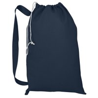 Heavy Duty Natural Cotton Canvas Laundry Bags, Large