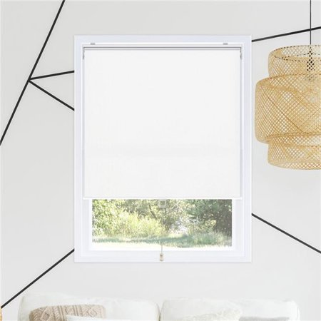Chicology RSBW6172 61 x 72 in. Snap-N-Glide Cordless Room Darkening Roller Shades - Byssus White - image 1 of 1