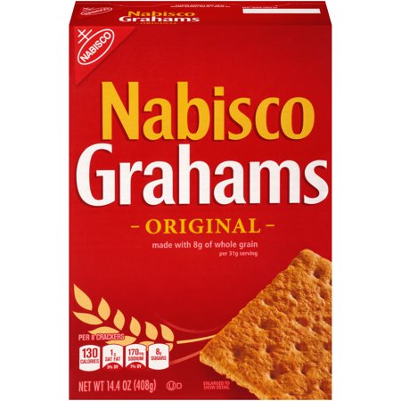 nabisco graham crackers 14 4 oz walmart com