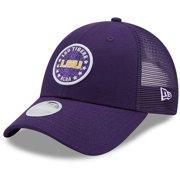 LSU Tigers New Era Women's Sparkle 9FORTY Snapback Hat - Purple - OSFA