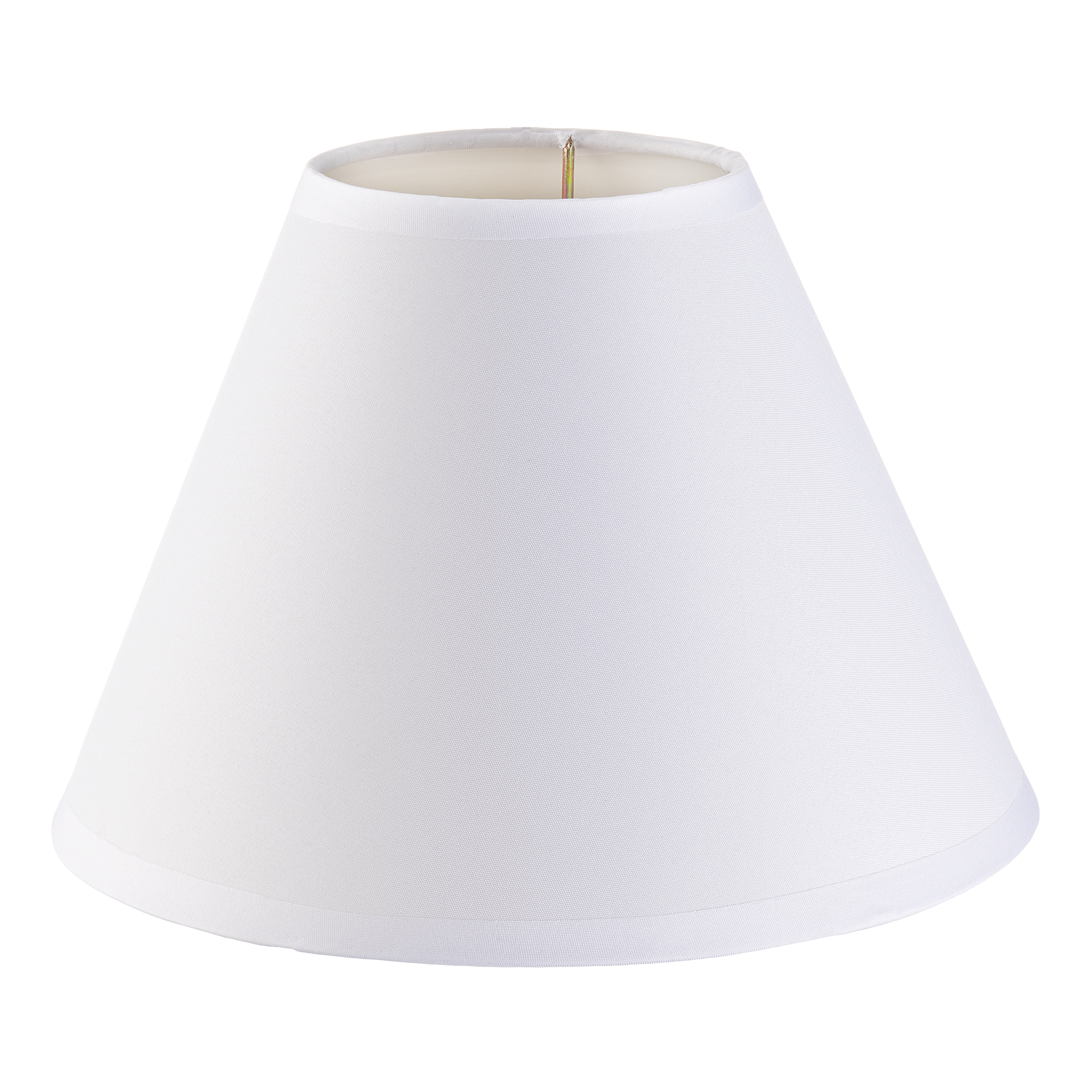 Darice lamp shade plain white small 4 x 9 x 6 5 inches walmart com