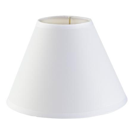 Darice Lamp Shade: Plain White, Small, 4 x 9 x 6.5 inches