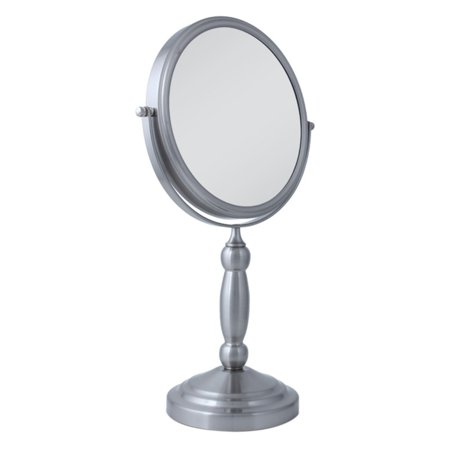 Nickel Swivel Mirror (Zadro 10X/1X Swivel Satin Nickel Vanity)