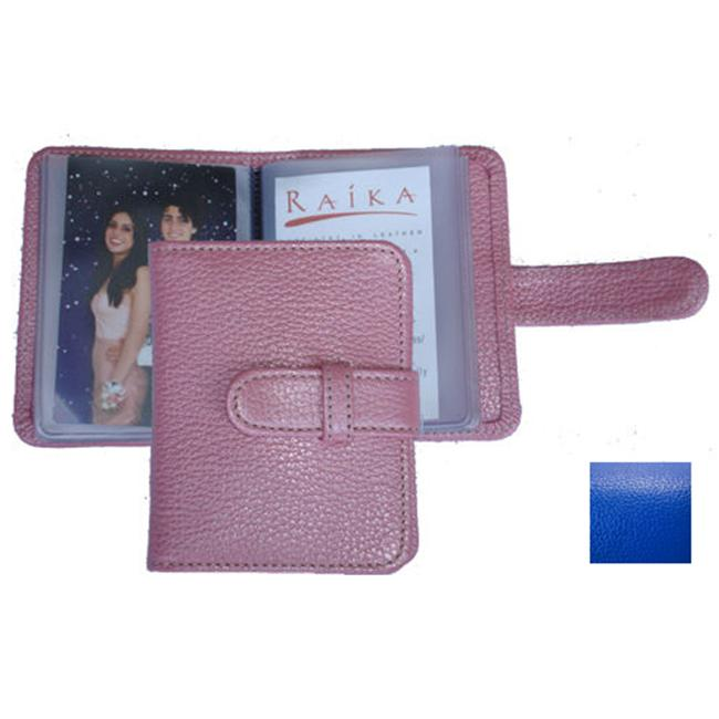Raika RO 108 BLUE 3 X 4 Photo Card Case - Blue