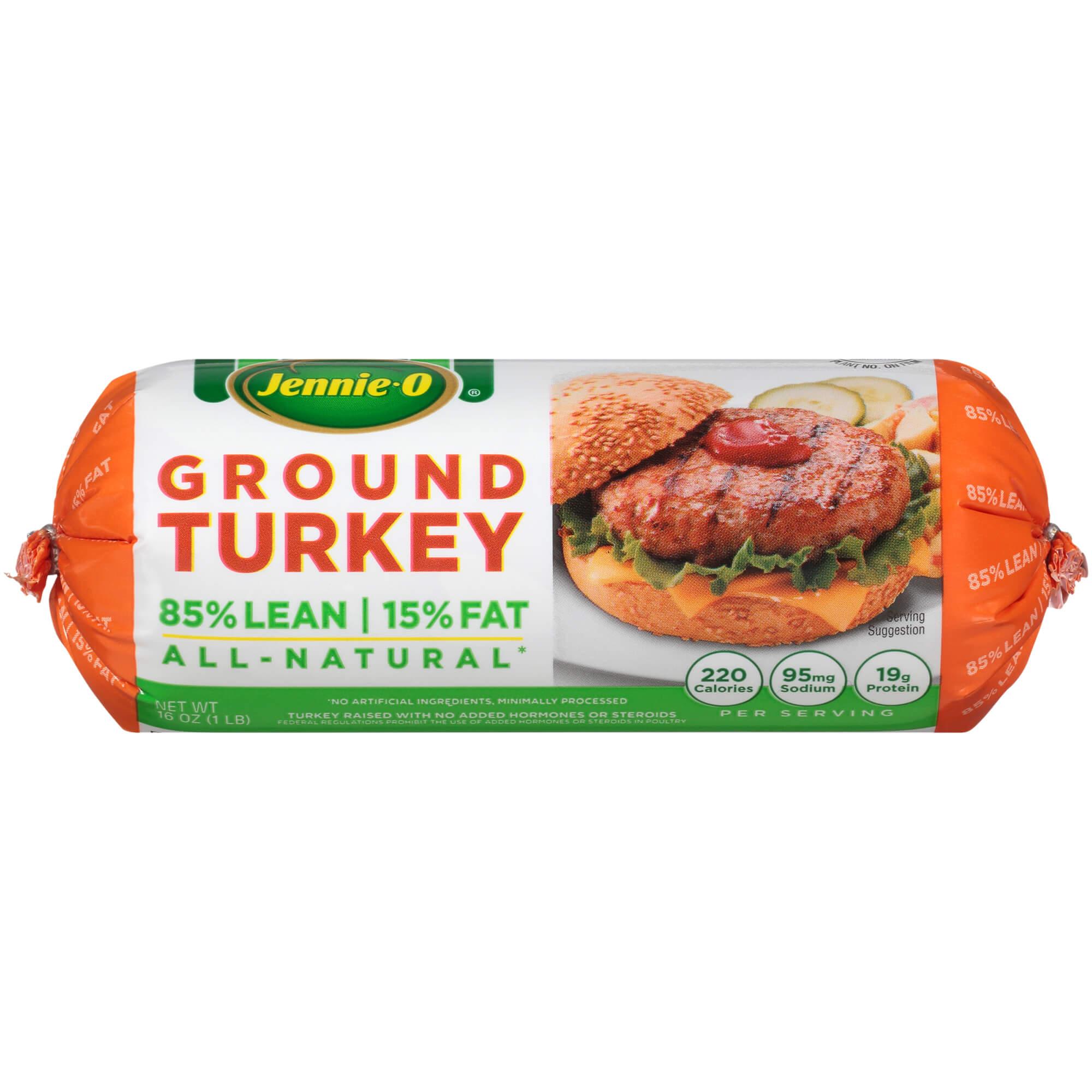 Jennie-O Ground Turkey Roll, 16 ounce (1 pound)