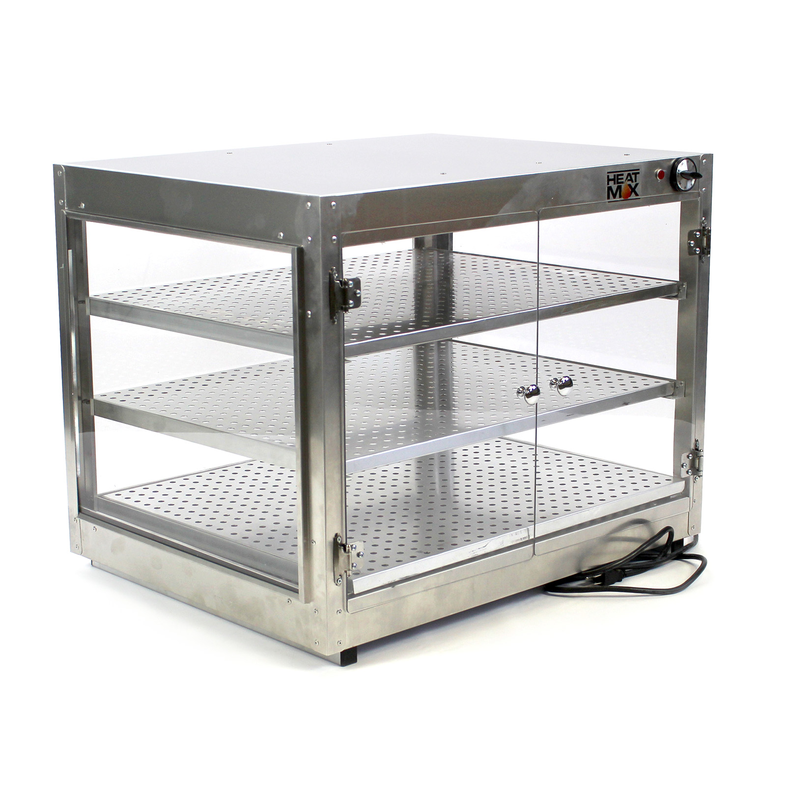 HeatMax Commercial 30 x 24 x 24 Countertop Food Pizza Pastry ...
