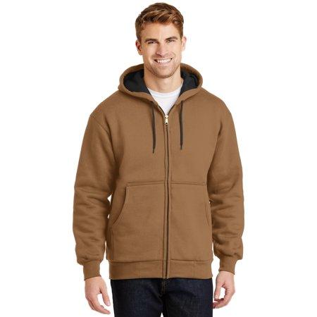 Cornerstone® - Heavyweight Full-Zip Hooded Sweatshirt With Thermal Lining. - image 1 of 1
