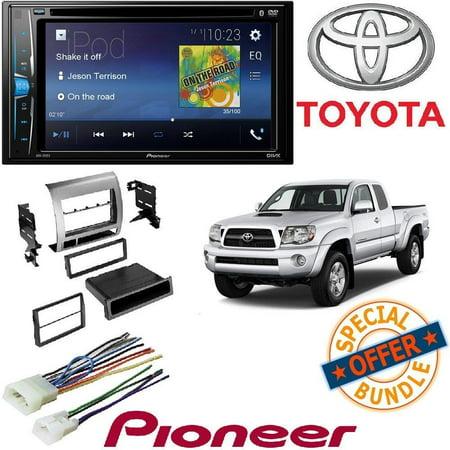 Pioneer Double 2 Din AVH-200EX DVD/MP3/CD Player 6.2