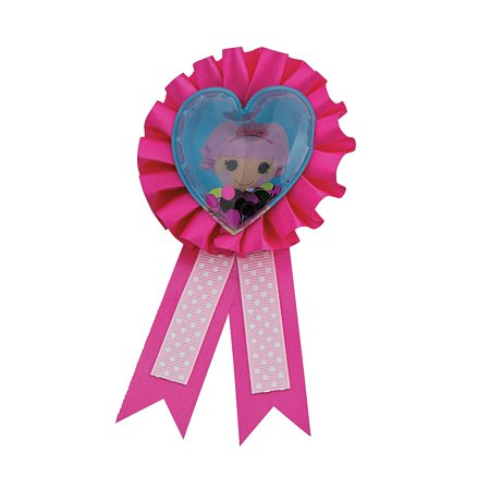 Fun Express - Lalaloopsy Confetti Pouch Award Ribbon for Birthday - Party Supplies - Licensed Tableware - Misc Licensed Tableware - Birthday - 1 Piece](Lalaloopsy Party Supplies)