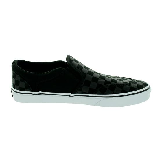 1d46b0e3c8f Vans - Vans Men s Asher (Checkers) Skate Shoe - Walmart.com