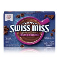 (2 pack) Swiss Miss Indulgent Collection Dark Chocolate Sensation Hot Cocoa Mix, 8 Count 10 oz
