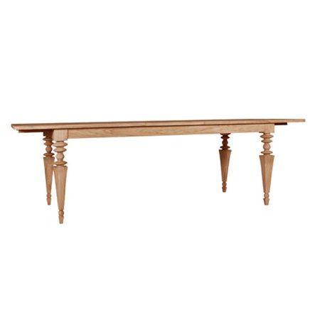 Asta Glam Teak Extending Dining Table ()