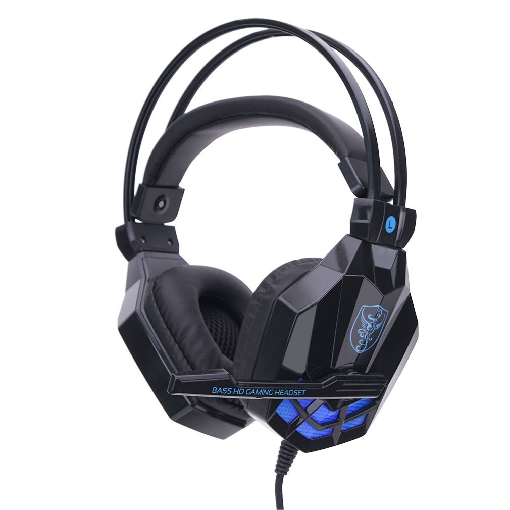 SY850MV Fashionable Design Gaming Headsets Home Office Wired Noise Cancelling Headphone With Microphones For Computers PC