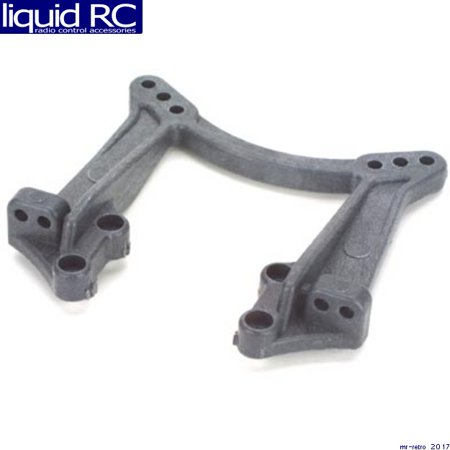 Associated 9569 Factory Team Front Shock Tower Carbon - Associated Factory Team Battery Strap