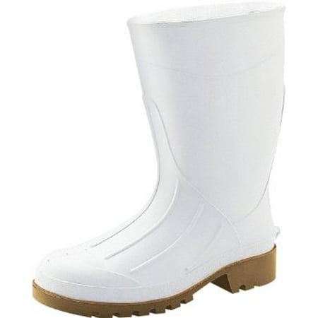 Boot Pvc Pln Toe 12in White 13
