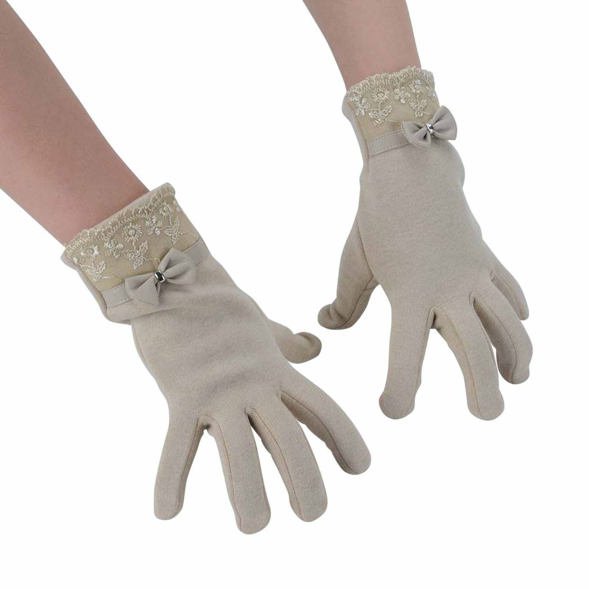 Womens Winter Gloves Touch Screen Gloves for Phone Thick Warm Windproof Mittens by Winter Gloves