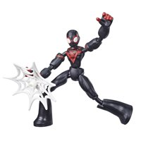 Marvel Spider-Man Bend and Flex Miles Morales Action Figure