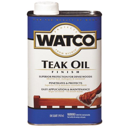 Watco Teak Oil Finish