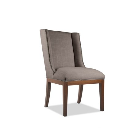 Medium Gray Slate - South Cone Home Marina Dining Chair With Nailheads