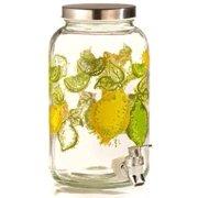 Style Setter Lemon Glass Beverage Dispenser