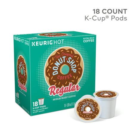 Best The Original Donut Shop Regular Keurig Single-Serve K-Cup Pods, Medium Roast Coffee, 18 Count deal