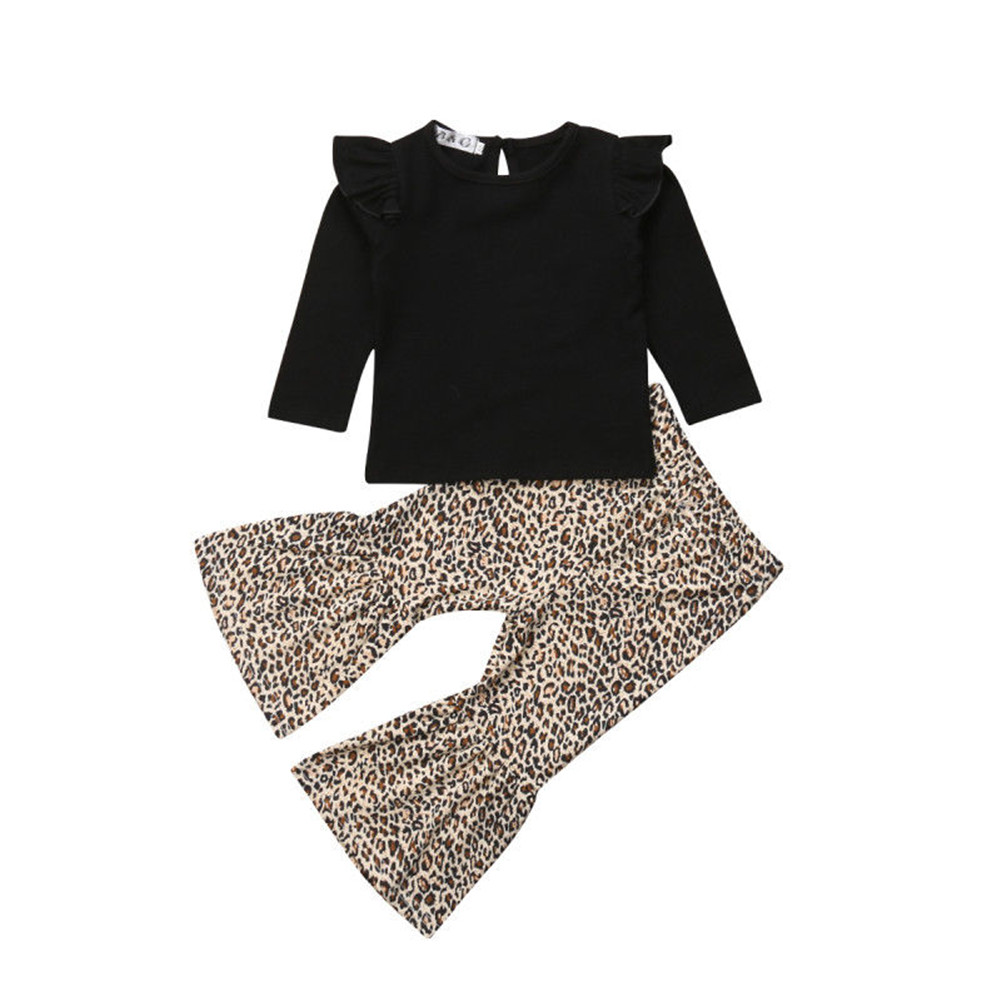 b9b32a257 2PCS Toddler Girls Kids Winter Casual Top+Pant Leggings Outfits Sets Clothes  9-12 Months