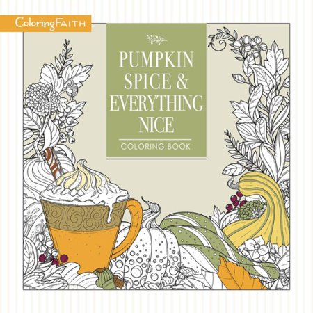 Pumpkin Spice & Everything Nice Coloring - Halloween Coloring Pages Pumpkin