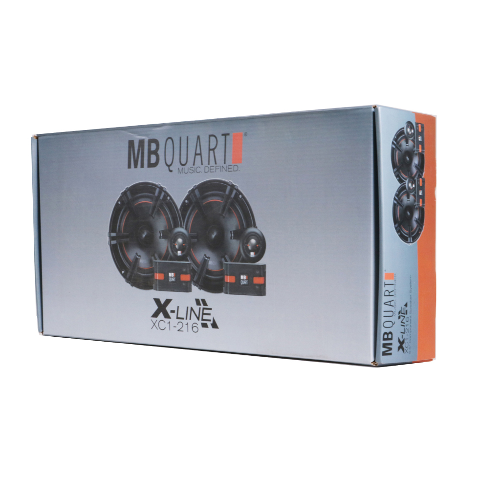 "MB Quart XC1-216 6-1/2"" 180W 2-Way Component Car Speakers 2 Pairs"