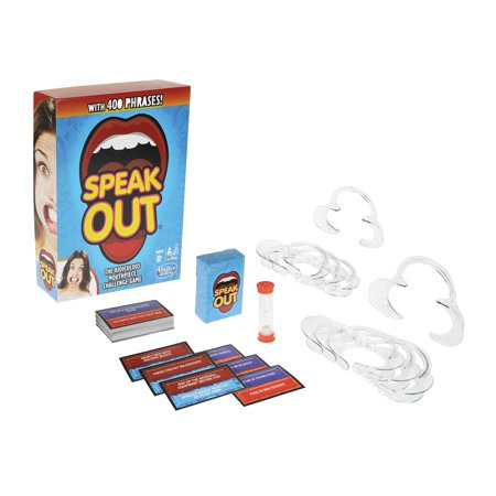 Speak Out Game Mouthpiece Challenge For Friends, Families, and