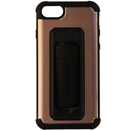 new style 65046 3e968 Scooch Wingman Series 5-in-1 Case Cover for iPhone 8 7 6s - Pink Rose  Gold/Black
