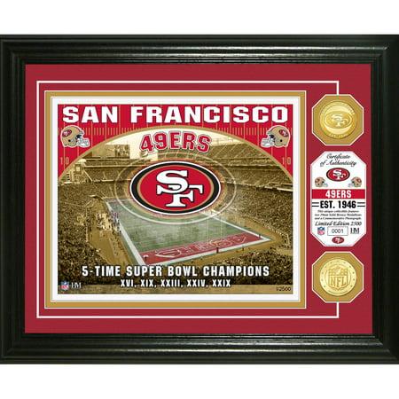 San Francisco 49ers Highland Mint 13