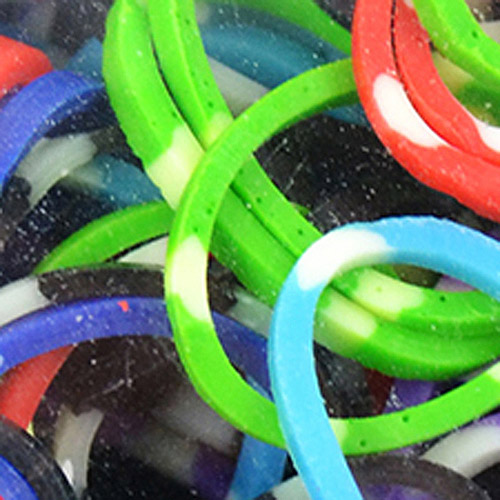 Loom Bands, 525-Pack, Striped