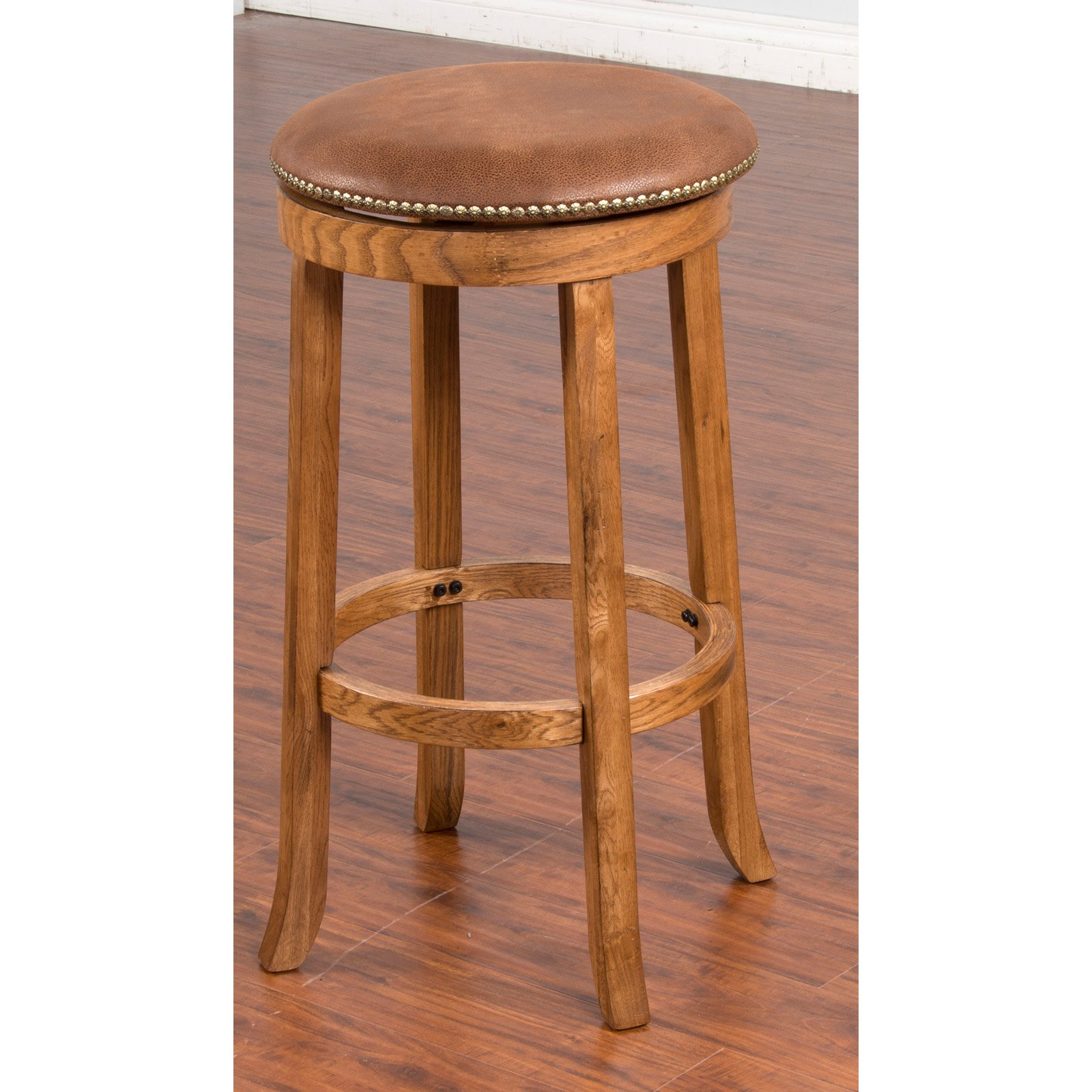 Sunny Designs Sedona 30 in. Backless Swivel Bar Stool