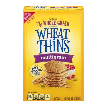 Multigrain Thin ((3 Pack) Nabisco Wheat Thins Multigrain Snacks 8.5 oz.)