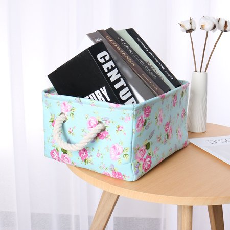 Foldable Storage Basket Bin for Closet Toy Box Organizer Cube  Hanging Bag