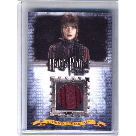 Harry Potter and the Half-Blood Prince Natalia Tena as Nymphadora Tonks Authentic Costume Card [245/400] (Prince And The Revolution Halloween Costume)