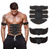 1SET Magic EMS Muscle Training Gear Abdominal Muscle Trainer ABS Trainer Fit Body Home Exercise Shape Fitness