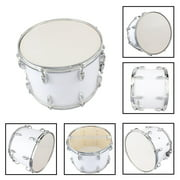 Ktaxon Student Marching Snare Drum Kids Percussion Kit White with Drumsticks Strap