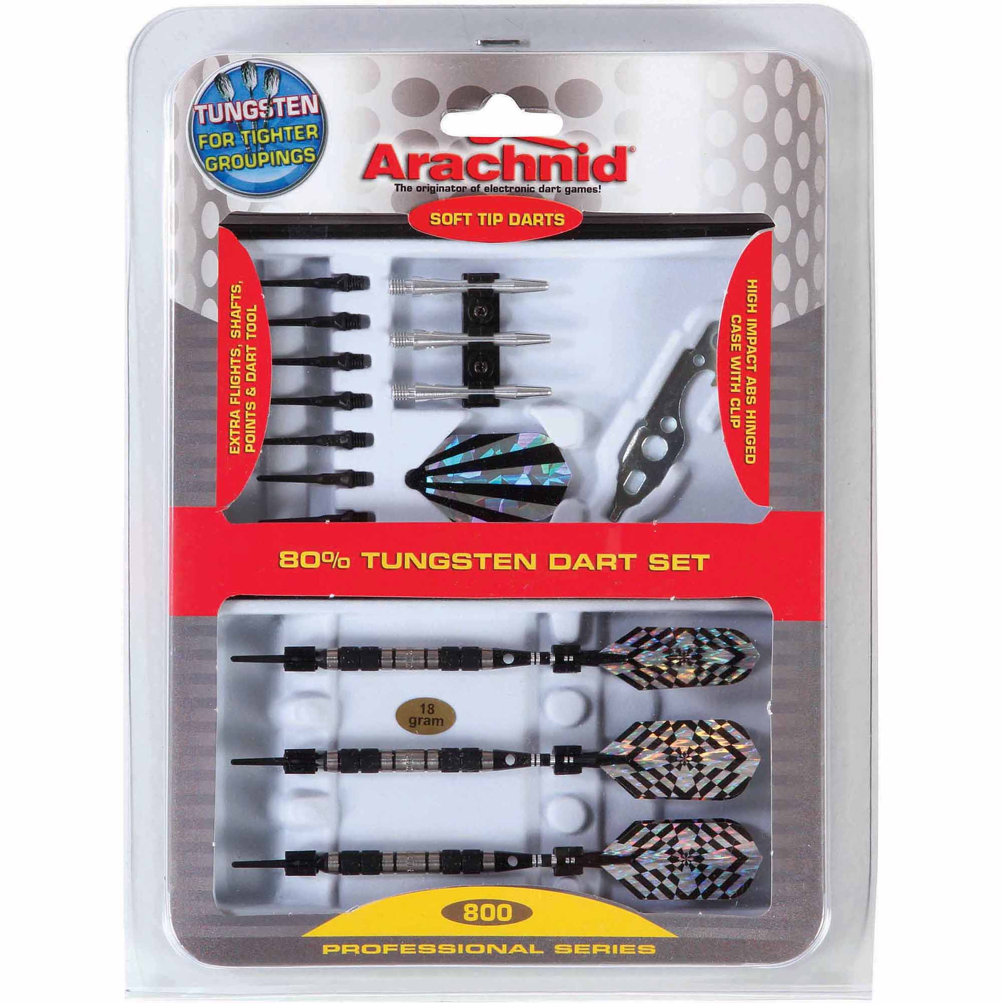 Arachnid Professional 80 Percent Tungsten Dart Set
