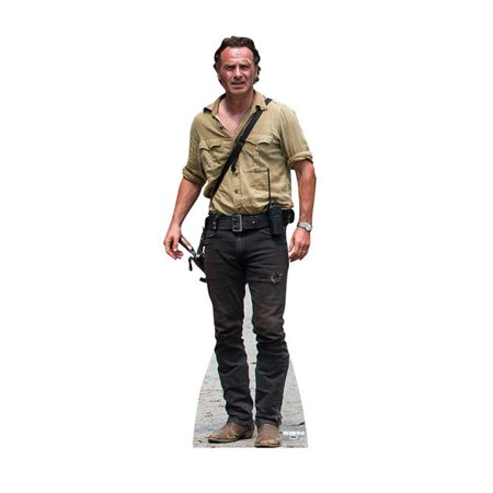 Advanced Graphics 2236 70 x 26 in. Rick Grimes - The Walking Dead Cardboard Standup - image 1 of 1