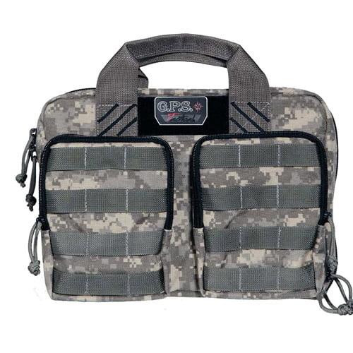 G.P.S. Tactical Quad Plus 2-Pistol Case