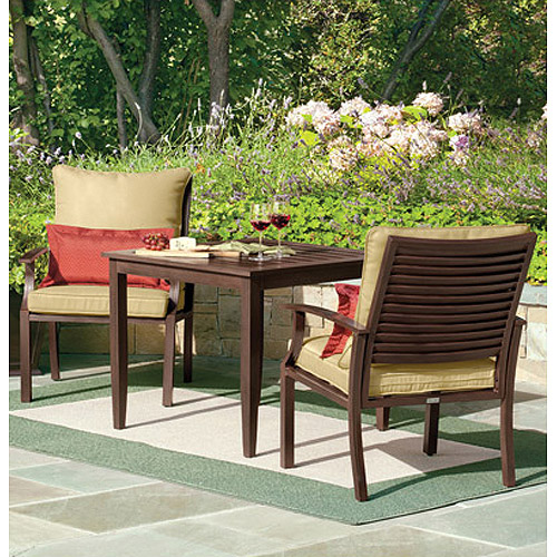 3 piece patio set canopy 3 pc set walmart 10318