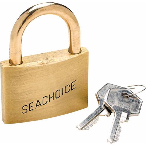 Seachoice Solid Brass Body Padlock
