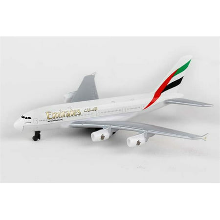 Daron Emirates A380 Authentic Detail Diecast Model Replica Airplane ()